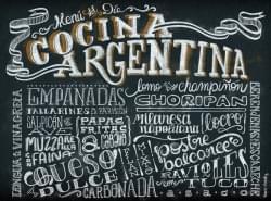 El mundo en la cocina argentina